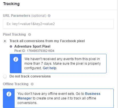 Facebook Local awareness Ad Tracking